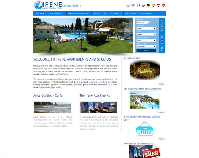 Irene Apartments
